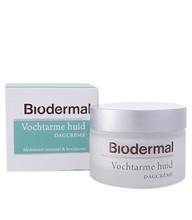 Biodermal Dagcrème vochtarme huid (50ml)