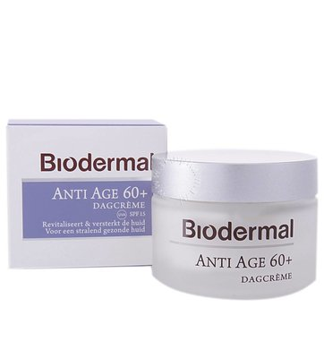 Biodermal Dagcreme Anti Age 60+ (50ml)