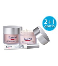 Actiepakket Eucerin Even Brighter Dagcrème (50 ml) & Nachtcrème (50 ml) & Spotcorrector (5 ml)