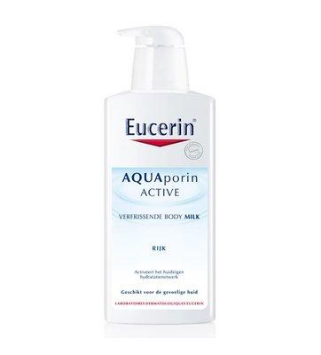 Eucerin AQUAporin Active Verfrissende Bodymilk rijk (400ml)