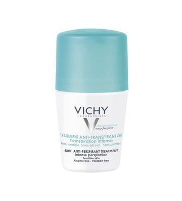 Vichy Deodorant Anti-transpiratie Roller 48 uur (50ml)