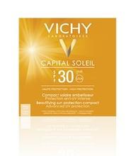 Vichy Capital Soleil Zonnecreme Compact Licht SPF 30 (10 gr)