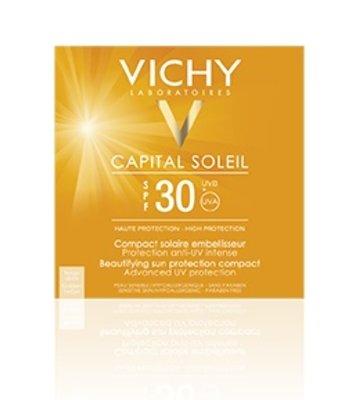 Vichy Capital Soleil Zonnecrème Compact Licht SPF 30 (10 gr)