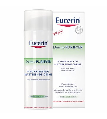Eucerin DermoPURIFYER Hydraterende Matterende Crème (50ml)