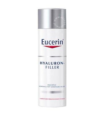 Eucerin Hyaluron Filler Dagcrème voor Normale tot Gemengde Huid (50ml)