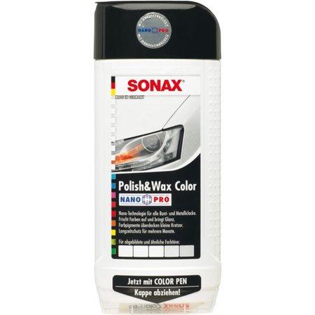 Sonax Sonax Polish & Wax Color NanoPro weiss