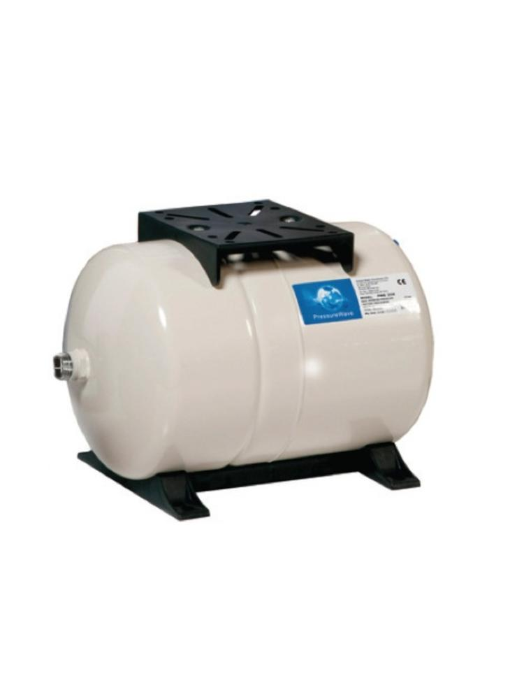 Pressure wave 100 liter horizontaal 1 aansluiting for H2o power x