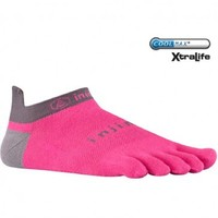 Injinji Run Lightweight No-Show Xtralife - Canyon/pink