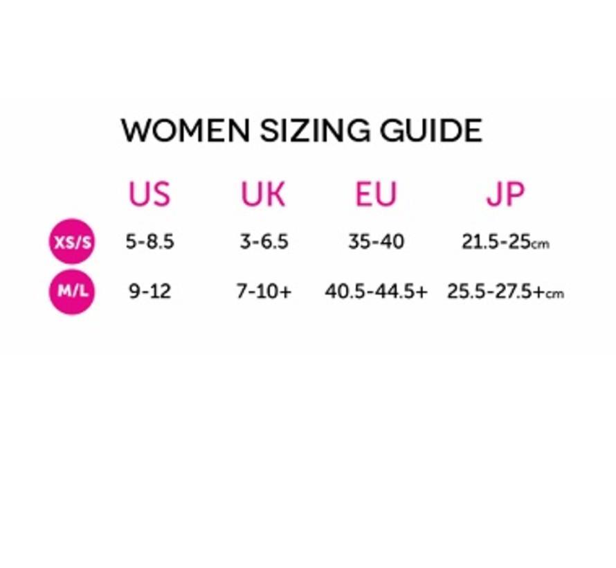 Women's Run Lightweight No-Show Pink-Navy