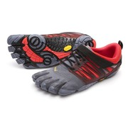 Vibram Fivefingers V-train - grey/black/red - mannen