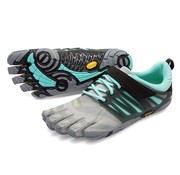 Vibram Fivefingers V-train - grey/black/aqua - vrouwen