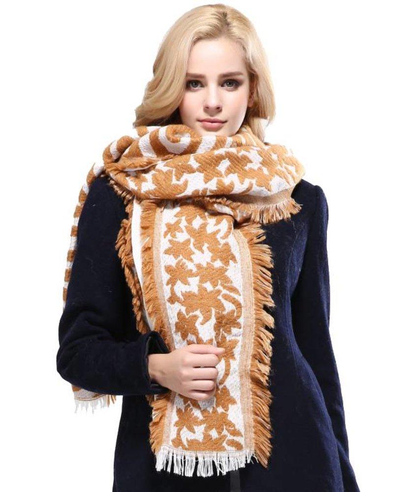 Vianosi Baumwolle Fashion Schal Gold