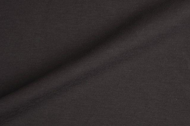 jersey stretch van biologische katoen, grijs