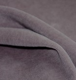 organic cotton velour, grey