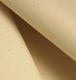 canvas from organic cotton, natural white