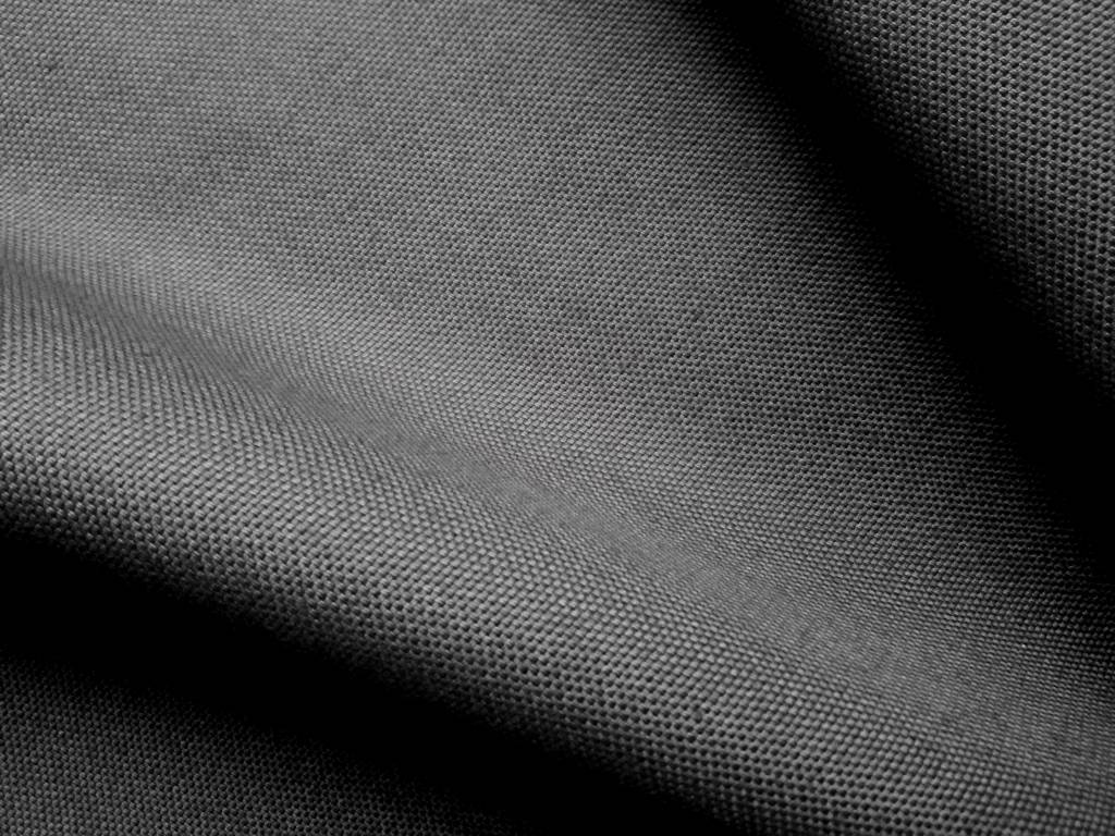 canvas from organic cotton, anthracite