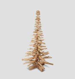 Houten kerstboom kersenhout 150/90 smal model