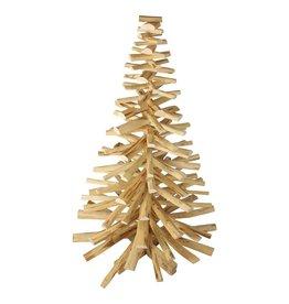 Houten Kerstboom kersenhout 150/90 breed model