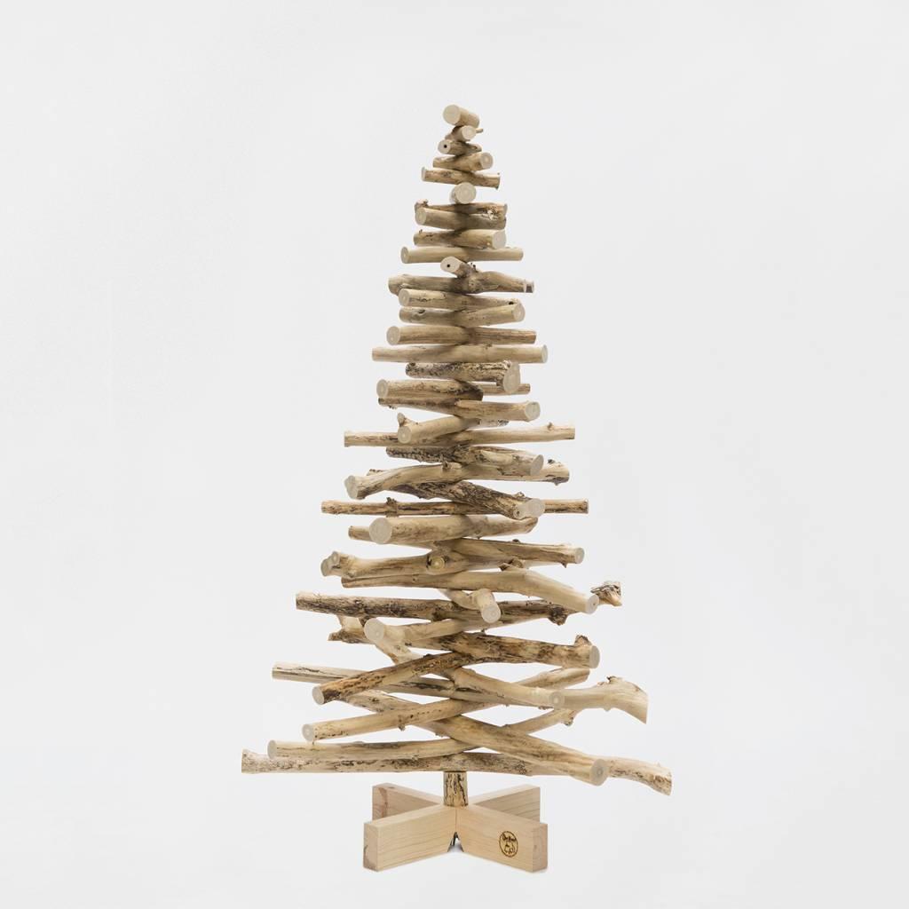 Houten Kerstboom Vlierbes