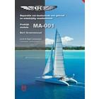 MA-001 Boot Gelcoat en & enkelzijdige glasvezel reparatie cursus