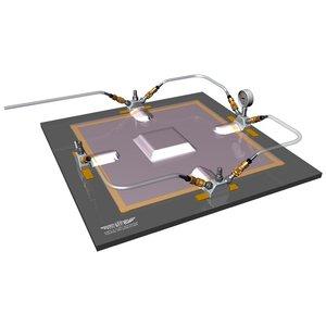Vacuum poort voor vlakke oppervlakken