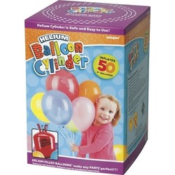 Helium wegwerp tank 50 ballonnen