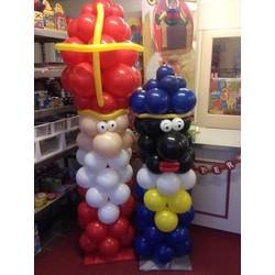 Zwarte Piet en Sinterklaas decoratie