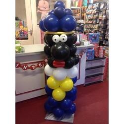 Zwarte piet ballon decoratie