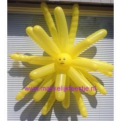 Doe het zelf ballonnen pakket Zon