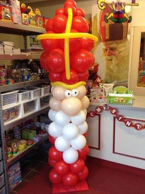 Sinterklaas ballon decoratie