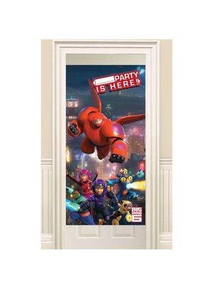 Big hero 6 verjaardag deurposter