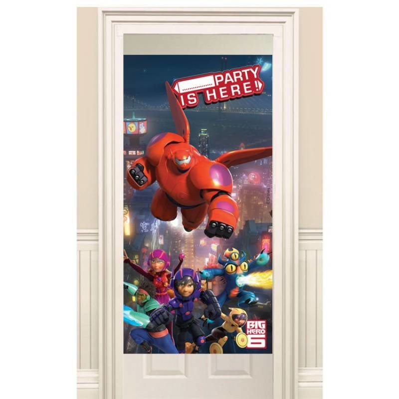 Big hero 6 deur poster