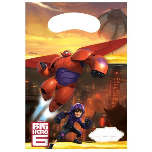 Big hero 6 uitdeelzakjes