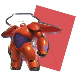 Big hero 6 uitnodigingen