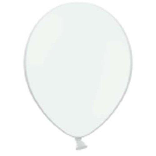 Ballonnen wit, 10 stuks