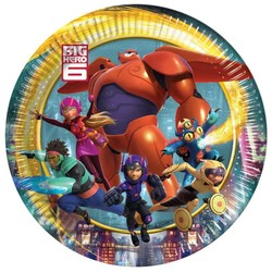 Big hero 6 gebaksbordjes