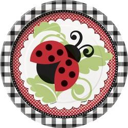 Gebaksbordjes, Lively Ladybugs