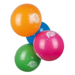 hoera geslaagd versiering 6 ballonnen
