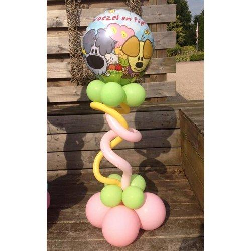 Woezel en Pip draai decoratie ballon