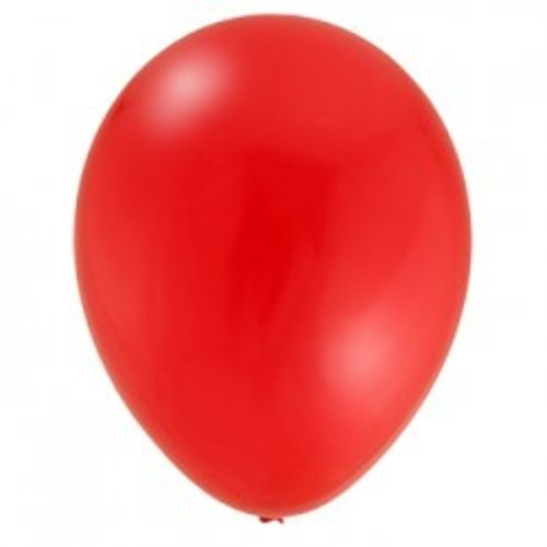 rode ballonnen, 10 stuks
