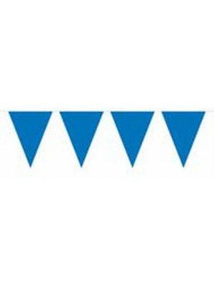 Donkerblauwe vlaggenlijn 10 meter