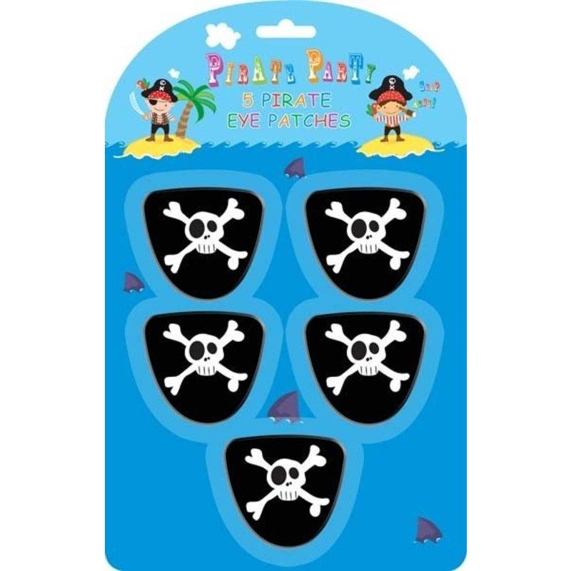 5 ooglappen vriendelijke piraat