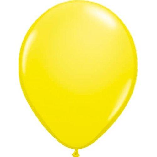 Gele ballonnen, 10 stuks