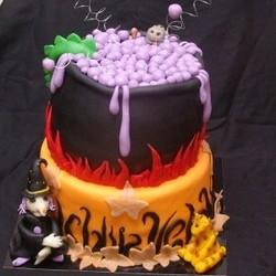 Voorbeeld heksen taart