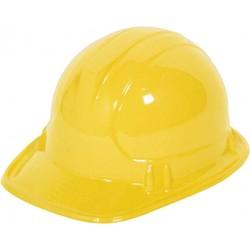Gele bouwhelm (voor kinderen) net als Bob de bouwer.
