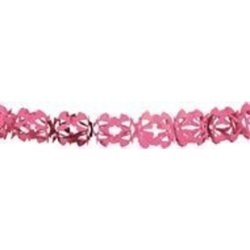 Slinger papier, roze