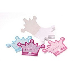 prinsessen kroon notitie blokje, per stuk