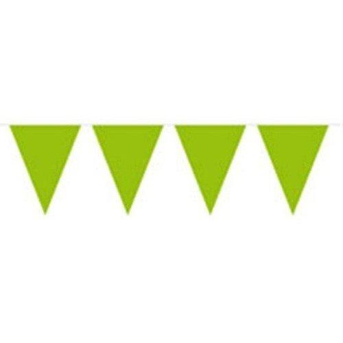 Vlaggenlijn, lime groen