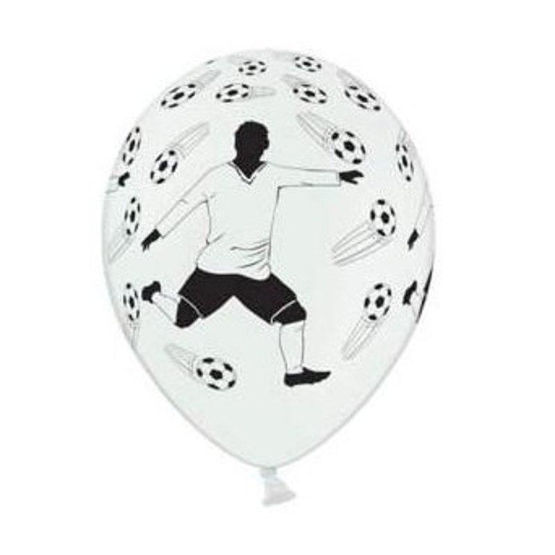 6 Voetball ballonen, Voetbalfeestje