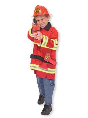 Verkleedkleding brandweer incl. speelgoed (Melissa & Doug)